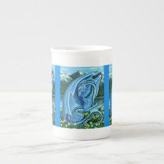 Aquamarine Dragon Bone China Mug