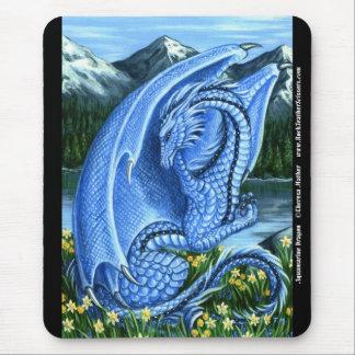 Aquamarine Dragon Mousepad