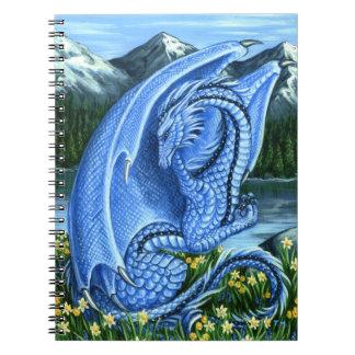 Aquamarine Dragon Notebook