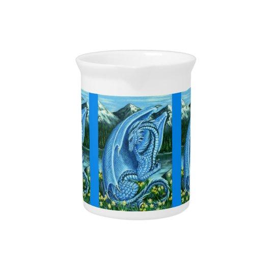 Aquamarine Dragon Pitcher