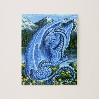 Aquamarine Dragon Puzzle