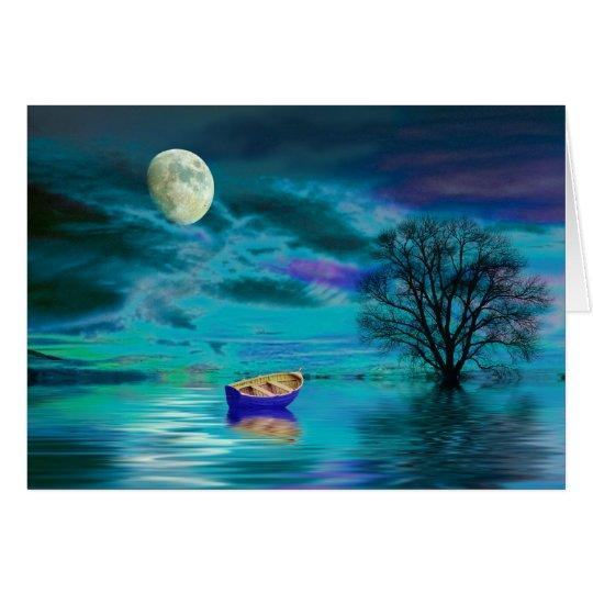 Aquamarine Dream Card