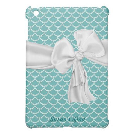 Aquamarine elegante y caso del iPad blanco mini iPad Mini Carcasas