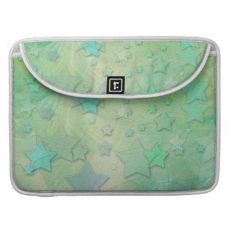 Aquamarine Fantasy Stars MacBook Pro Sleeve