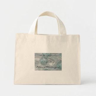Aquamarine Gems Flowergirl Bag