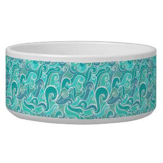 aquamarine,green,turquoise,blue,white,mint,waves,t bowl
