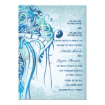 Aquamarine Jellyfish Invitation