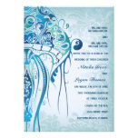 Aquamarine Jellyfish Invitation2 Personalized Invite