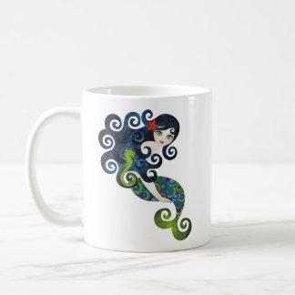 aquamarine la sirena adolescente tazas de café