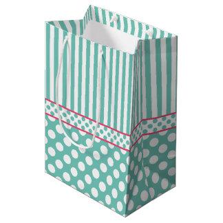 Aquamarine Medium Gift Bag