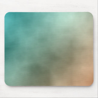 Aquamarine Nebula Mouse Pad