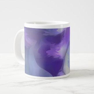 Aquamarine Pastel Abstract Large Coffee Mug