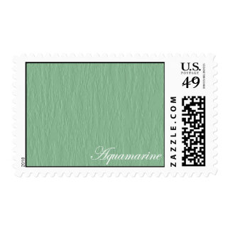 Aquamarine Stamp