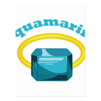 Aquamarine Postcard