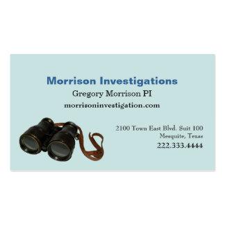 Aquamarine Private Investigation Business Card
