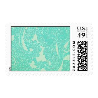 Aquamarine-REG30 Stamp
