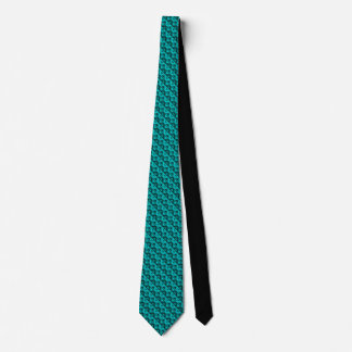 Aquamarine Rhombus™ Mens' Necktie