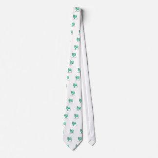 Aquamarine Sheep Neck Tie