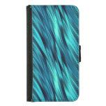 Aquamarine silky waves