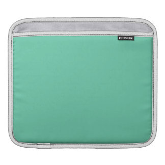 Aquamarine Solid Color Sleeves For iPads