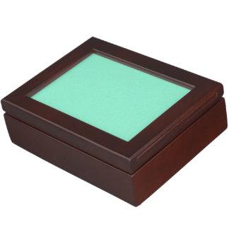 Aquamarine Star Dust Keepsake Box