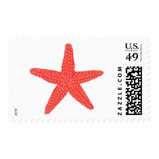 Aquamarine Starfish A by Ceci New York Stamp