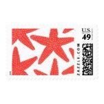 Aquamarine Starfish B by Ceci New York Postage Stamp