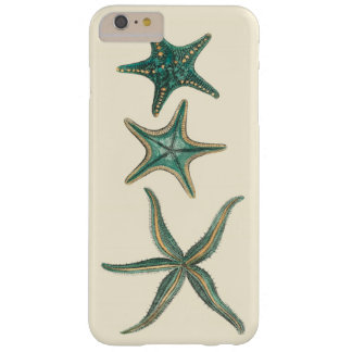 Aquamarine Triple Starfish Barely There iPhone 6 Plus Case
