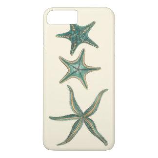 Aquamarine Triple Starfish iPhone 7 Plus Case
