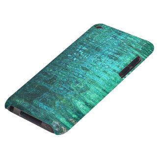 Aquamarine Water Ripples iPod Case Barely There iPod Covers