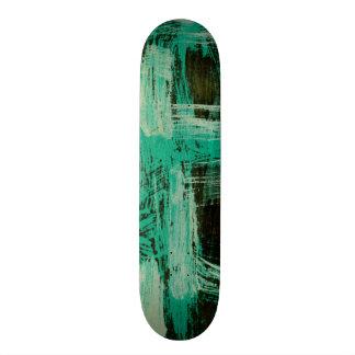 Aquamarine Windows I Skateboard