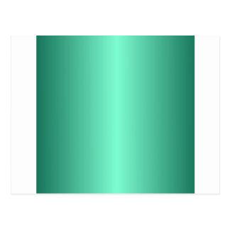 Aquamarine y pendiente verde de Castleton Postal