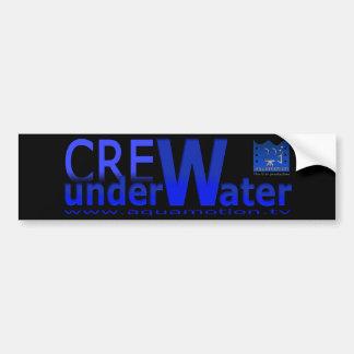 aquamotion film tv CREW sticker