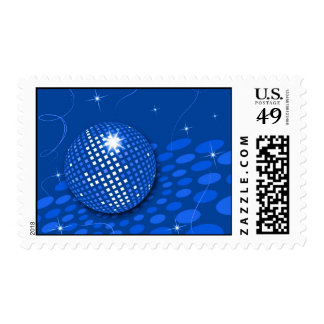 Aquaparty Postage Stamps