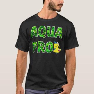 AQUAPRO Stacked Leaf Logo (Dark) T-Shirt