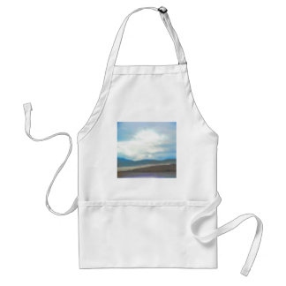 aquarel del paisaje escocés delantal
