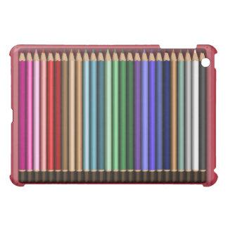 Aquarelle Pencil case design iPad Mini Cover