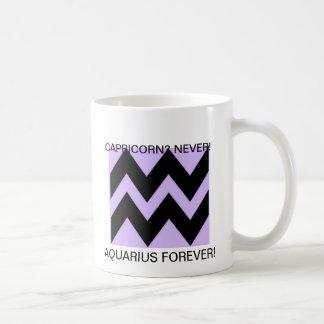 Aquarian refuses to change to Capricorn Coffee Mug