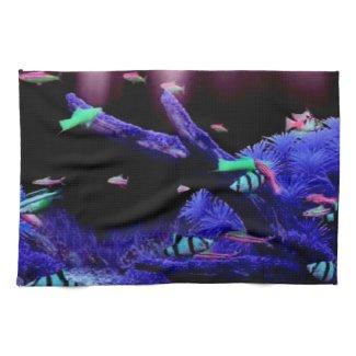 Aquarium American MoJo Kitchen Towels