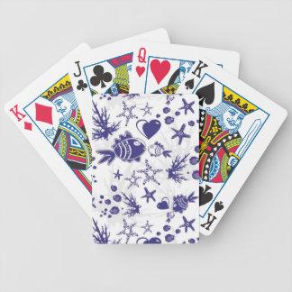 Aquarium Bicycle Playing Cards