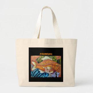 Aquarium Canvas Bag