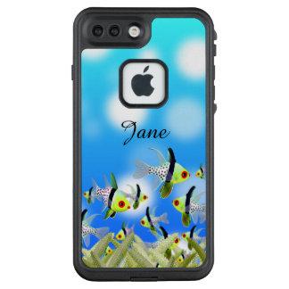 AQUARIUM Cell Phone Cover, Fishes & Sea LifeProof FRĒ iPhone 7 Plus Case