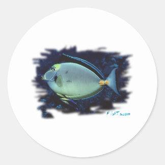Aquarium Collection by FishTs.com Classic Round Sticker