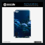 """Aquarium Decal For iPod Touch 4G<br><div class=""""desc"""">iPod Touch 4th Gen Skin Template</div>"""