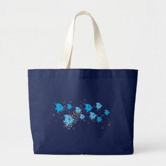 Aquarium Delight Large Tote Bag