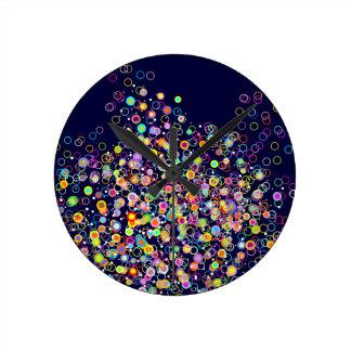 Aquarium Delight Round Clock