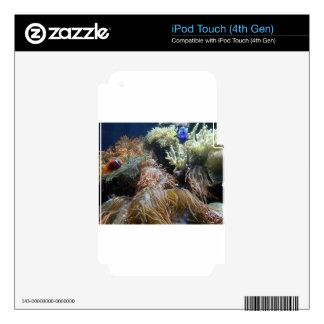 Aquarium Fish Decals For iPod Touch 4G