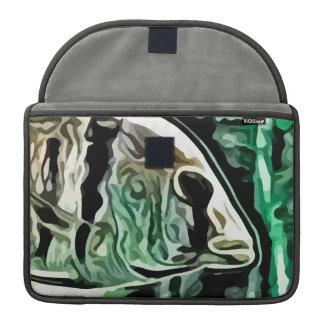 aquarium fish painting MacBook pro sleeve