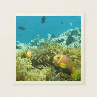 Aquarium Fish Paper Napkin