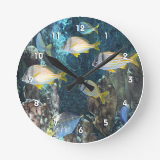 Aquarium Fish Wall Clock